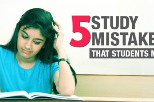 5 Study Mistakes that students make