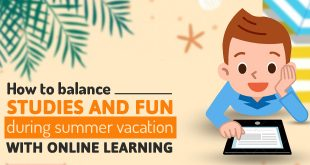 How to balance studies and fun during summer vacation with online learning?