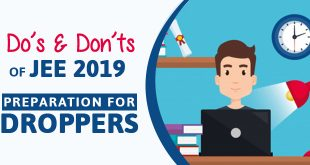 JEE 2019 Preparation Tips