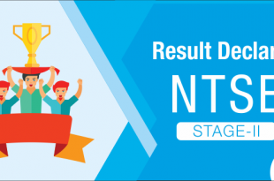 NTSE Stage 2 Result Declared