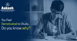 You feel demotivated to study. Do you know why?